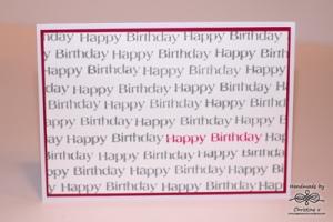 Many Happy Birthdays
