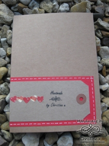 Wrapping card reverse