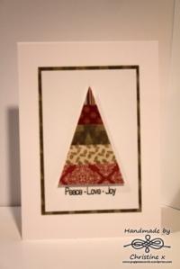 Papercut Christmas Tree